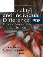 [Simon Boag, Niko Tiliopoulos] Personality and In