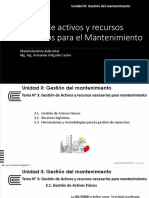 Present. - Unidad II - Mantenimiento Industrial - Tema 3 y 4