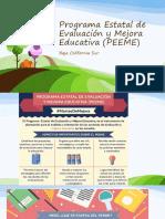 Programa Estatal de Evaluación y Mejora Educativa (
