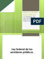 Ley Federal de Los Servidores Públicos ALMO