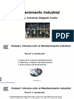 Present. - Unidad I - Mantenimiento Industrial