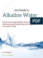Guide to Alkaline Water