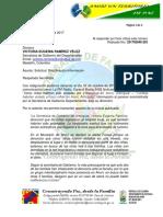 203 Solicitud Secretaria de Gobierno Dept