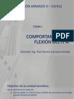 TEMA 1-COMPORTAMIENTO A FLEXION DEL H°A°