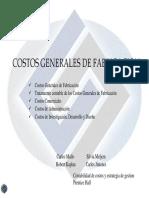 Tema 6 Costos Generales de Fabricacion