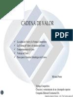Tema 8 Cadena de Valor