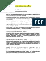 Dirieto Previdenciário I