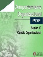 Cambio Organizacional[10]
