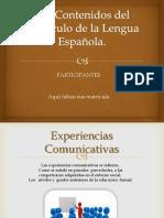 Los Contenidos del Currículo de la Lengua Española.pptx