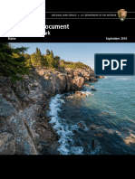 Acadia National Park Foundation Document