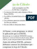 Excel y Sus Partes