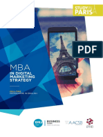 Mba Digital Marketing Strategy