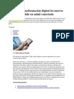 20170920 Transformación Digital Los Nuevos Desafíos de Chile en Salud Conectada