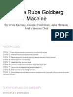 arcade rube goldberg machine