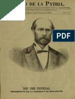 Periódico El hijo de la Patria. N° 9, Sábado 03.Sep.1881