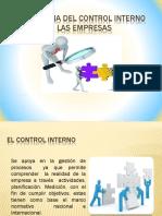 Importancia Del Control Interno en Las Empresas