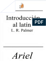 Palmer L R - Introduccion Al Latin.pdf