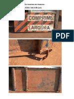 Placas de Sinalização Traseira Do Prancha