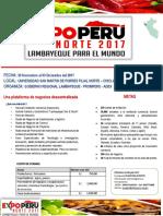Expo Peru Norte 2017 Info