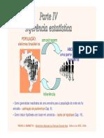 Cap 9 - Estimação de Parâmetros