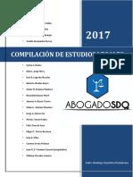 Compilacion de Estudio Legales Abogados SDQ