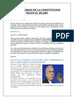 Comentarios de La Constitucion politica peru