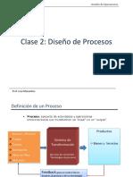 20152ICN343S101_Clase N°2 Diseno de Procesos