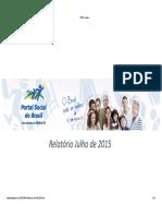 ⭐Portal Social Brasil Julho de 2015