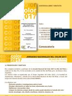 ColorMdP2017 Convocatoria