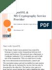 OpenSSL and Crypto API EKON21