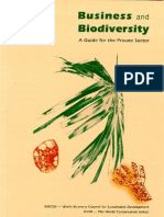 Business and Biodiversity – A Guide for the Private Sector (WBCSD 1997)