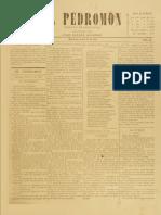 Periódico El Pedromon. Periódico de caricaturas. N° 44 al 49, 12 al 29.Jun.1901