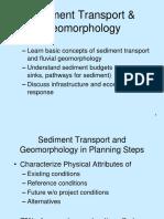 2016-06-SEDIMENT TRANSPORT DAN GEOMORPHOLOGY.pptx