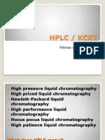 Kul 2. Metohan HPLC