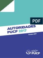 Suplemento - Autoridades PUCP 2017