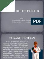 ETIKA PROFESI DOKTER