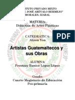 artistas guatemaltecos