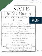 Braun-Sonata+Pieces Sans Basse