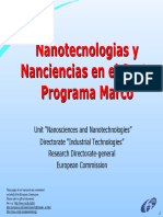1 Nanotecnología. El Futuro Industrial en Europa