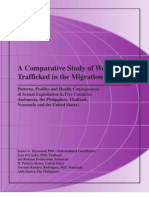 Comparative Study of Women Trafficked in the Migration Process