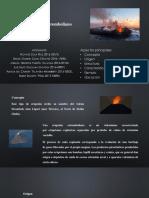 Exposición sobre Erupción Estromboliana