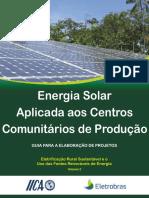 Energia Solar Aplicada Aos Centros Comunitários de Produção