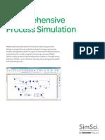 Datasheet SE-SimSci PROIIComprehensiveProcessSimulation 11-15