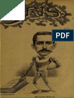 Periódico Iris. Periódico literario ilustrado. Año I, N° 6. Santiago 3ra. semana de Mayo de 1901
