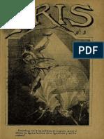Periódico Iris. Periódico literario ilustrado. Año I, N° 3. Santiago 3ra. semana de Abril de 1901