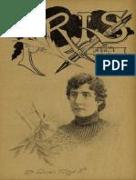 Periódico Iris. Periódico literario ilustrado. Año I, N° 2. Santiago 3ra. semana de Abril de 1901