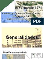 Expo Sismo San Fernando 1971