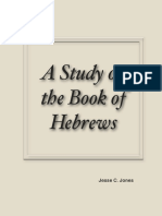 A Layman's Commentary on the Book of Hebrews by Jesse C Jones