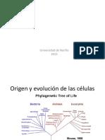 Unidad I Biología Celular-Clase
