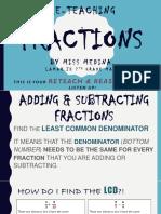 fractions retest